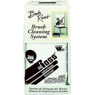 Bob Ross Odorless Three-piece Plastic Art Brush Cleaning System