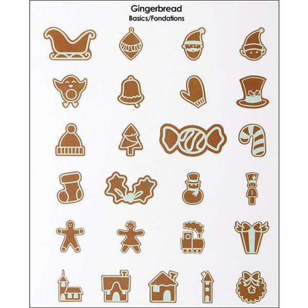 Provo Craft Mini Gingerbread Cricut Cartridge