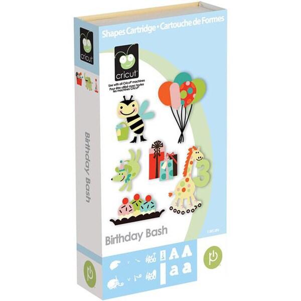 Provo Craft Birthday Bash Shape Cricut Cartridge