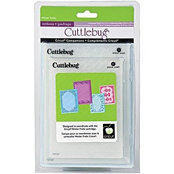 Cricut Cuttlebug Companion Embossing Folder Winter Frolic Bundle (Pack of 4)