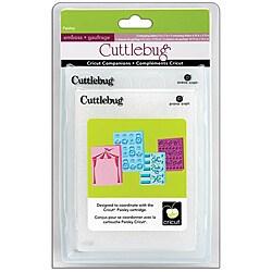 Cricut Cuttlebug Companion Embossing Folder Paisley Bundle (Pack of 4)