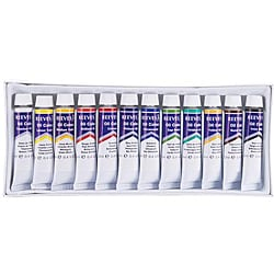 Reeves 12-piece Oil Paint Set
