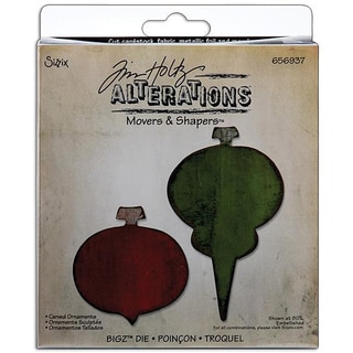 Sizzix Movers & Shaper 'Carved Ornaments' Magnetic Die