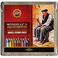 Chartpak Mondeluz Aquarell Watercolor Pencils (Case of 24)