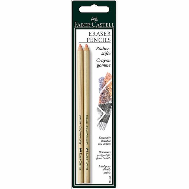 Faber-Castell Eraser Pencils (Pack of 2)