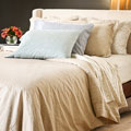 Reflections Tear Drop Cotton Sateen 300 Thread Count King-size Sheet Set