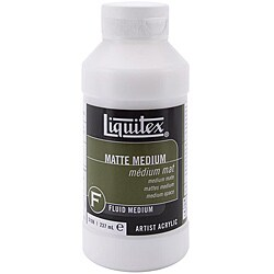 Liquitex Acrylic 8-oz Matte Medium
