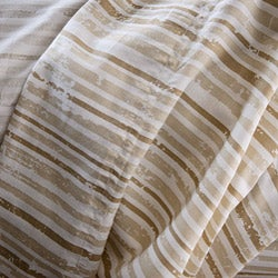 Reflections Distressed Stripe Sateen 300 Thread Count Full-size Sheet Set
