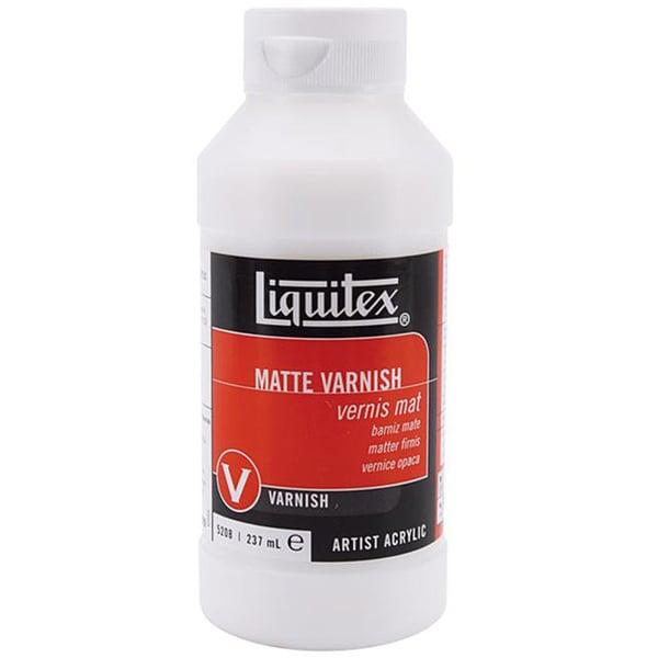 Liquitex Liquid Acrylic Clear-dry Matte Varnish (Eight-ounce Bottle)