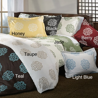 Milena 3-piece Reversible Duvet Cover Set