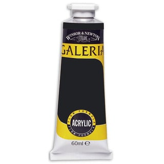 Galeria Lamp Black Acrylic Paint