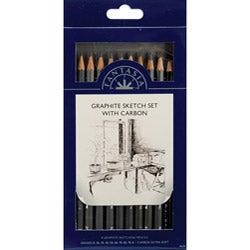 Pro Art Fantasia Graphite 10-piece Pencil Set
