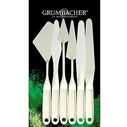 Grumbacher 6-piece Palette Knife Set