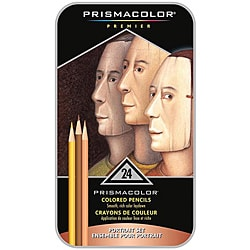 Prismacolor Premier Colored Pencil Portrait Set (Case of 24)