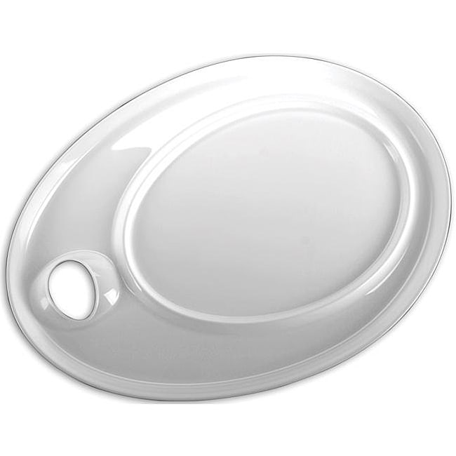 Overstock.com Ellipse Extra-Large White Peel-Off Palette (Pack of 1) at Sears.com
