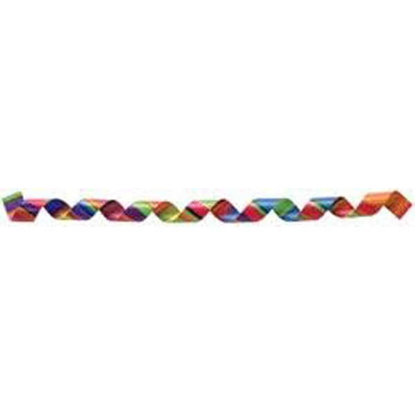 Berwick 'Crazy Strip-Multi' 250-yard Printed Curling Ribbon