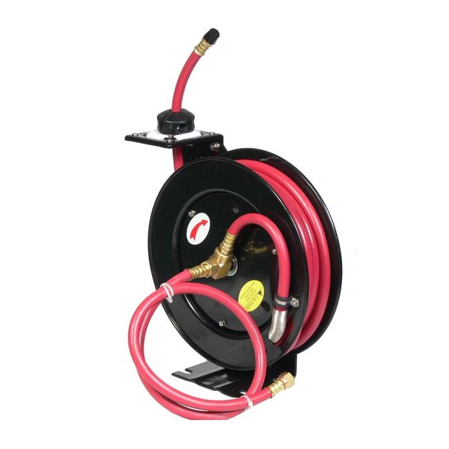 Retractable 100-foot Air Hose Reel