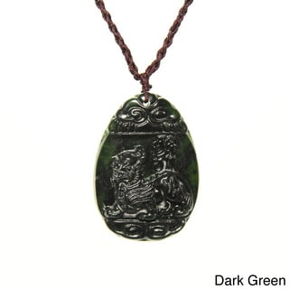 Jade Blessing Knot Necklace (China)