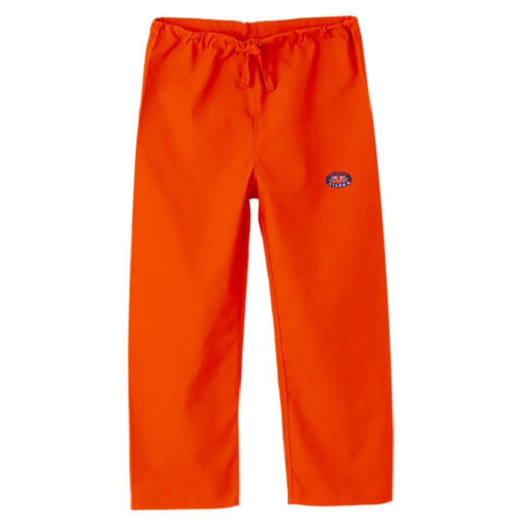 gelscrub unisex orange auburn tiger logo scrub pants Auburn University Tiger Logo Auburn Tigers Logo Stencil