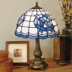 Tiffany-style North Carolina Tar Heels Lamp