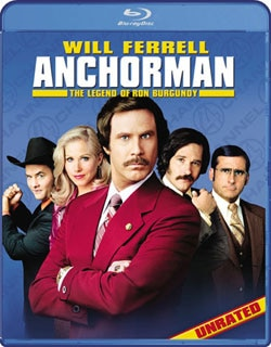 Anchorman: The Legend of Ron Burgundy (Blu-ray Disc)
