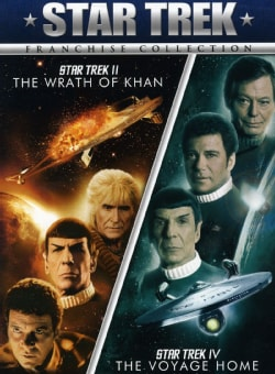 Star Trek II: The Wrath Of Khan/Star Trek IV: The Voyage Home (DVD)