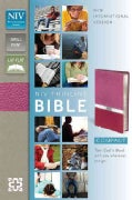 Holy Bible: New International Version, Orchid / Razzleberry, Italian Duo-Tone, Thinline (Paperback)