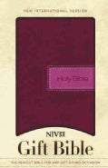 Holy Bible: New International Version, Razzleberry, Italian Duo-Tone, Gift Bible (Paperback)