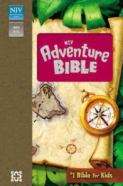 Adventure Bible: New International Version, Tropical Pink Leather-Look (Paperback)