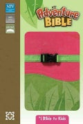 Adventure Bible: New International Version Pink / Green Italian Duo-Tone Clip Closure (Paperback)