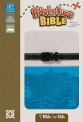Adventure Bible: New International Version, Gray / Blue, Italian Duo-Tone, Clip Closure (Paperback)