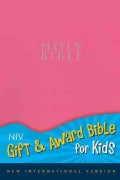 Holy Bible: New International Version, Pink, Leather-Look, Gift & Award Bible for Kids (Paperback)