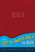 Holy Bible: New International Version Red Leather-Look Gift and Award Bible for Kids (Paperback)