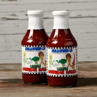 VT Made Richard's Vegan Barbecue Sauce (Set of 2)