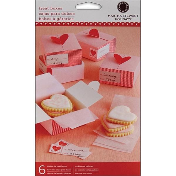 Martha Stewart Heart-shaped Treat Box (3 x3)