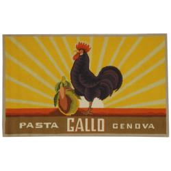 Safavieh Hand-hooked Vintage Poster Mocha Wool Runner (2'6 x 4')