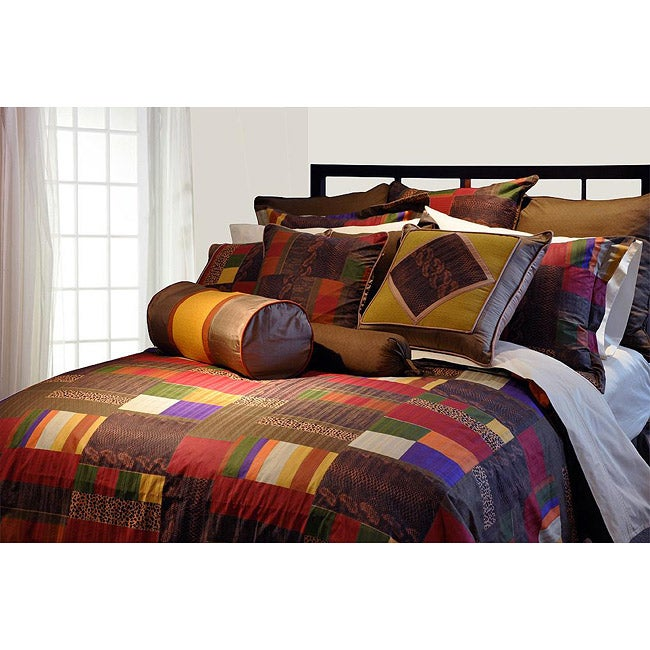 marrakesh 8 piece california king size comforter set overstock