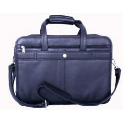 Cambridge Black Leather Briefcase