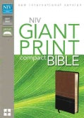 Holy Bible: New International Version, Sierra / Black, Italian Duo-Tone, Giant Print (Paperback)