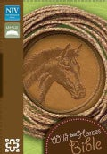Holy Bible: New International Version, Toffee Italian Duo-Tone, Wild About Horses (Paperback)