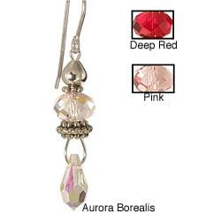 Sterling Silver 'Eros' Crystal Earrings