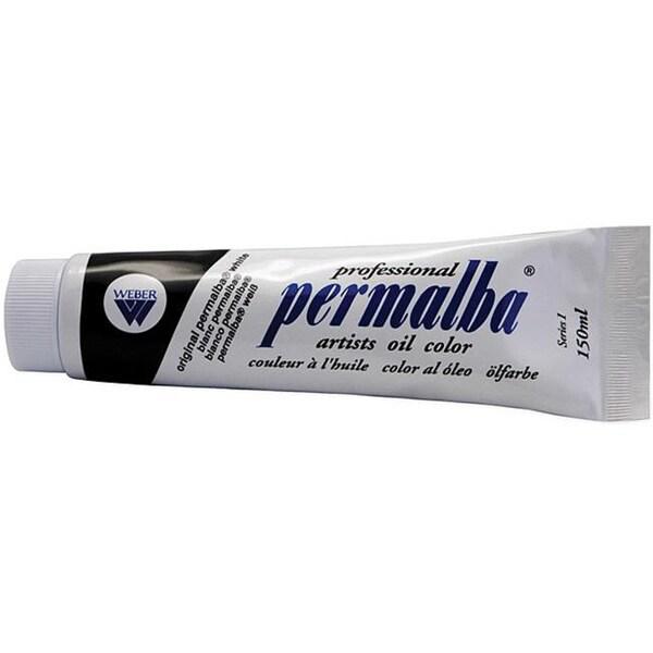 Original Permalba White Oil Paint