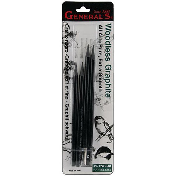 Woodless Graphite Pencils (Pack of 4)
