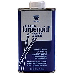Odorless Turpenoid 8-oz Turpentine Substitute