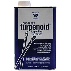 Odorless Turpenoid 1-quart Turpentine Substitute