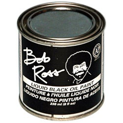 Bob Ross 236ml Black Oil Paint