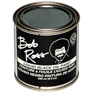 Bob Ross 236ml Black Oil Paint