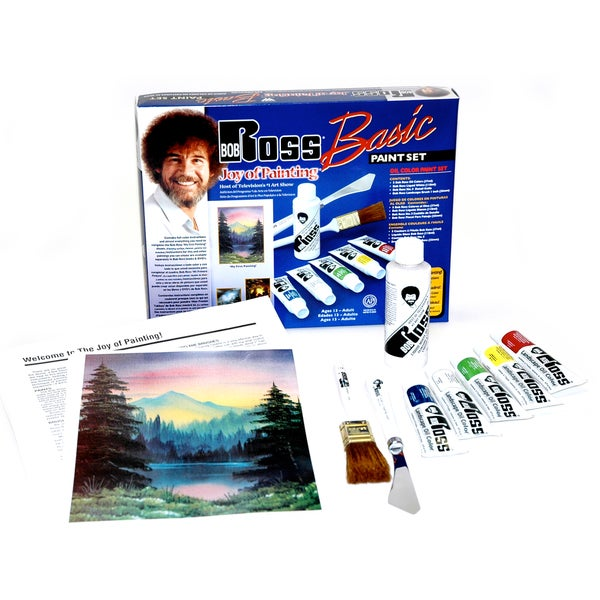 Bob Ross Basic Paint Set Overstock Shopping The Best Prices On Acrylic Paint