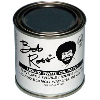 Bob Ross 236ml Liquid White Oil Paint