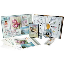 Susan Scheewe Deluxe Insturctional Watercolor Set